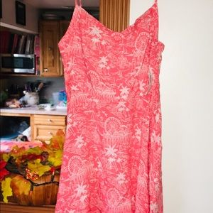 NWT Old Navy Coral Sundress